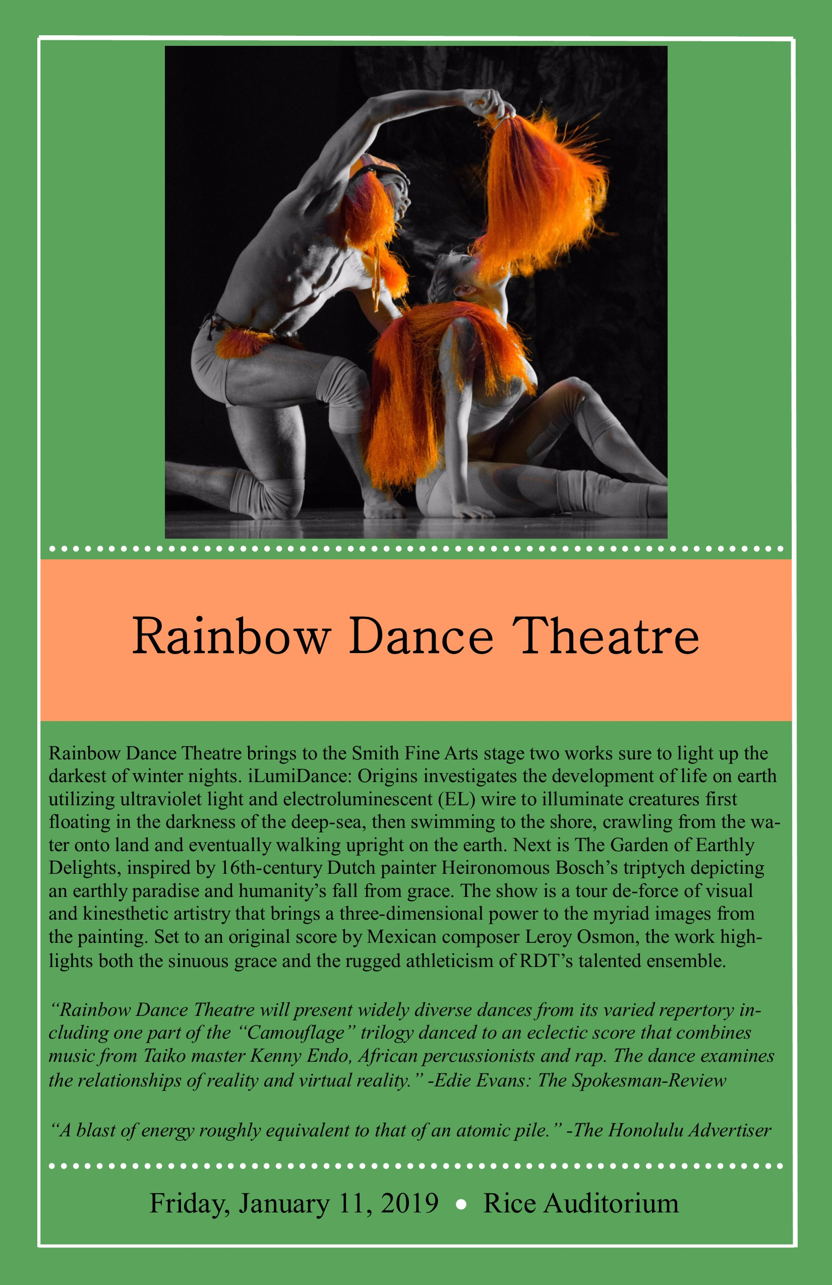 Smith Fine Art Series - Rainbow Dance Theatre